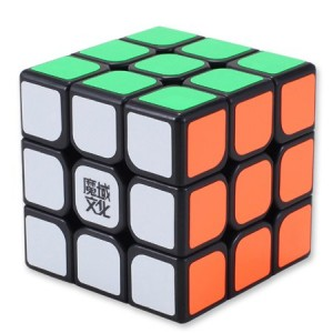 YJ Moyu Hualong 3x3x3 Speed Cube Puzzle, Black