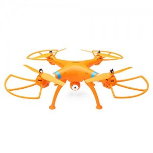 Syma X8C Venture with 2MP Wide Angle Camera 2.4G 4CH RC Quadcopter with Transmitter RTF (Orange)