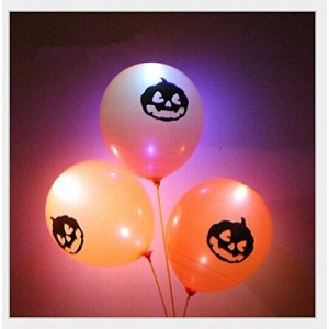 LED luminous balloons colorful light emitting balloon through the EN71-1-2-3 certification, in line with international standards (10 pcs) (type 2)