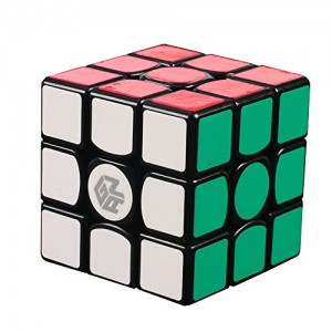 Gan 356 3x3x3 Speed Cube Puzzle, Black