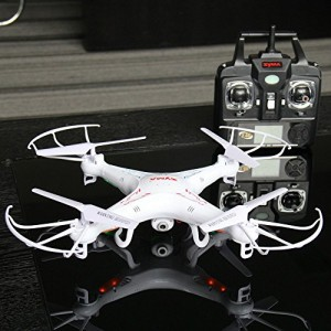 SYMA/X5C Syma X5C Explorers Quadcopter Drone 2.4G 4CH HD Video Camera & Micro SD Card + Extra 650mAh Lipo for most RC cars