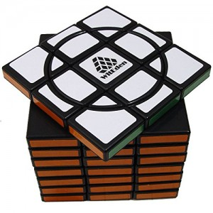 WitEden Super Crazy 3x3x8 II Magic Cube Black