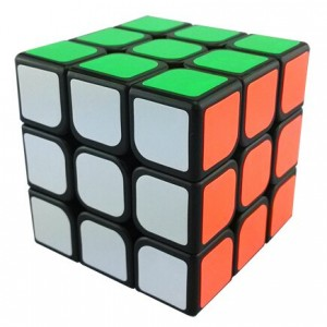 YongJun (YJ) GuanLong 3x3x3 57mm Magic Cube Black