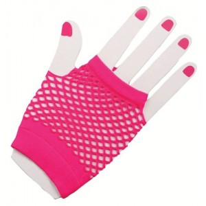 Fingerless Fishnet Glove
