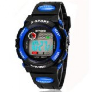 Mixeshop Multi Function Military S-shock Sports Watch LED Analog Digital Waterproof Alarm
