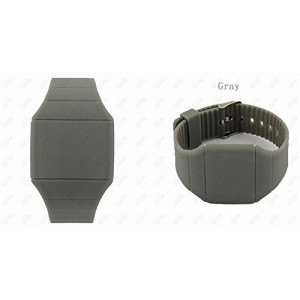 Touch Screen Colorful Ultra-thin Led Watch (gray)