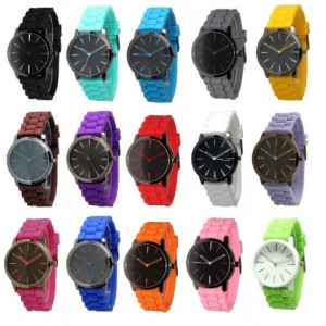 Wholesale Lot of 10 Unisex Tally Style Silicone Watch