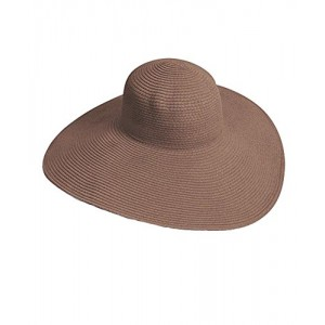 Big Beautiful Solid Color Floppy Hat
