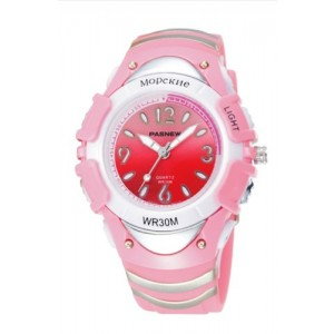 PASNEW 316G HighQuality Fashion Led Multi-Color Backlight Sport watch N3