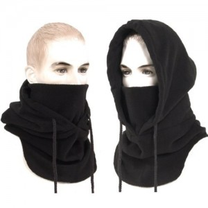 Outdoor Thermo Balaclava Full Face Sports Mask Nwt(black)
