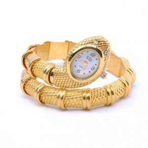2012 New style Sinuous Snake Shaped fashion bracelet watch.TOP quality.