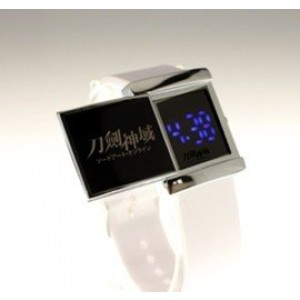 Sword Art Online Led Watch White #C