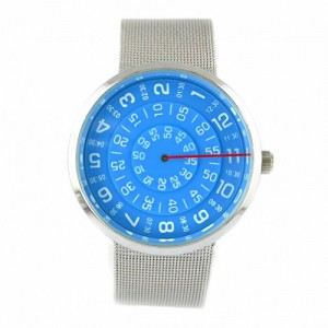 Youyoupifa New York Men`s Business Stainless Steel Quartz Wrist Watch (Blue)