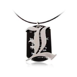 Stylish Death Note Pattern Necklace, Doll & Animation
