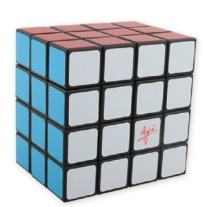 Ayi Fully Functional 4x4x3 Magic Cube Black