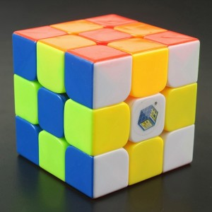 Yuxin Magic Cube Fire Kirin 3x3x3 56mm Puzzle, Cube Stickerless