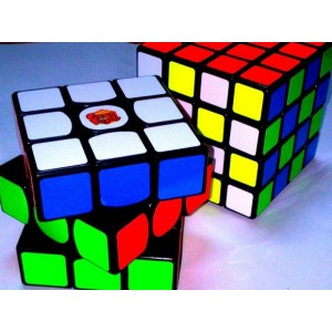 Yuxin Magic Cube Kirin 4x4x4 Puzzle, Cube Stickerless