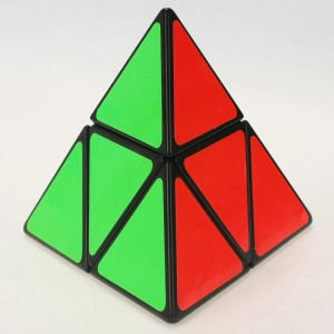 Shengshou 2-Layer Pyraminx Magic Cube Black