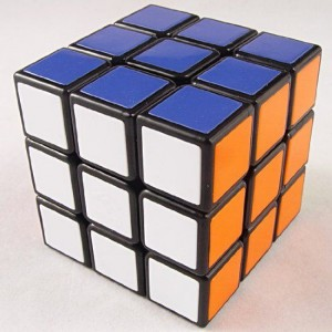 Cube4U (C4U) Tiled 3X3 Speed Cube Black
