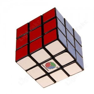 DS 3x3x3 57mm Magic Cube Black
