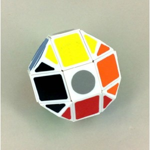 Lanlan Dodecahedron Paint Mask Speed Cube Puzzle White