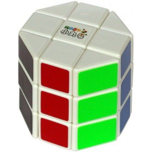 Maru 3x3 Octagon Barrel Cube White