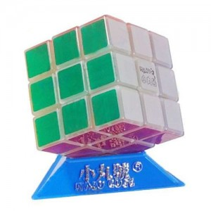 Maru 3x3x3 XWH ShenLan Magic Cube Glow In The Dark Green