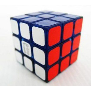 Maru 3x3 Tiny 3cm Speed Cube Transparent Blue