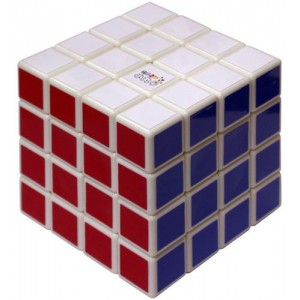 MARU 4x4x4For SpeedCubing White Body