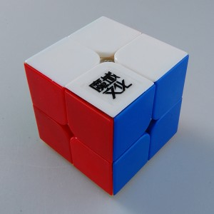 MoYu Lingpo 2x2 Magic Cube Puzzle Cube MoYu 2x2 Lingpo 2x2 Stickerless