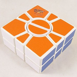 QJ 2-Layer Super Square-2 Cube White