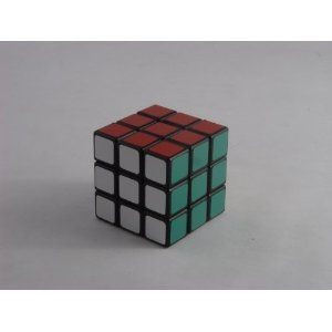 Type C 5.0 5cm Mini 3x3 Speed Cube Black