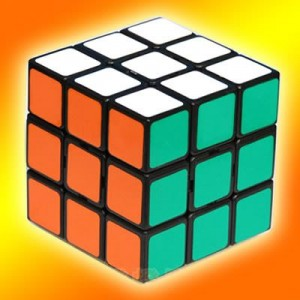 Type A - Full-Closure III (Guojia) 3X3 Speed Cube Black