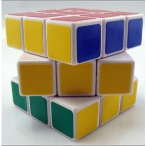 Type C III 3x3 Magic Cube White