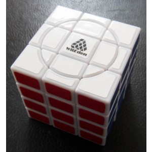 WitEden Super 3x3x4 Magic Cube White
