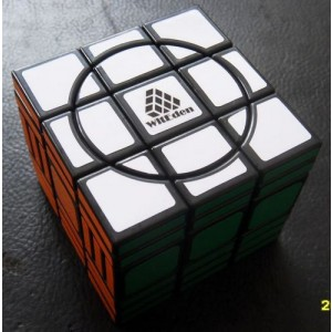WitEden Super 3x3x6 Magic Cube(Black)