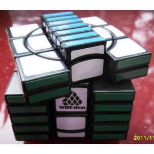 WitEden Super 3x3x7 Magic Cube(Black)