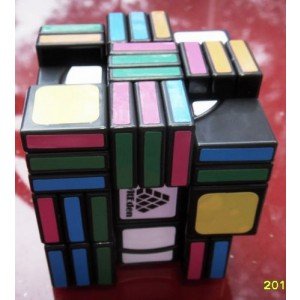 WitEden Super 3x3x8 Magic Cube(Black)