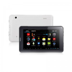 Tablet PC 7-inch Allwinner A13 2 GB GSM Bluetooth Aandroid 4.0 Capacitive Screen 512 MB/4 GB Dual Camera Wifi