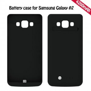 4200mAh External Battery Backup Charger Power Case Cover for Samsung Galaxy A7