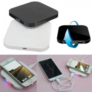 Hot Sale New Q8 QI Wireless Charging USB Splitter HUB Charger Pad For iPhone Samsung LG etc
