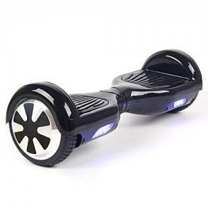 Hover Boost, Airboard Scooter, Hoverboard Two wheels Smart Self Balancing Scooters,Drifting Board with LED Light, Free + Carring Bag + Bluetooth Hands Free Headsset X722 (Black)