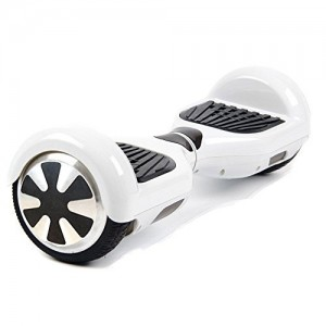 Hover Boost, Airboard Scooter, Hoverboard Two wheels Smart Self Balancing Scooters,Drifting Board with LED Light, Free + Carring Bag + Bluetooth Hands Free Headsset X722 (White)