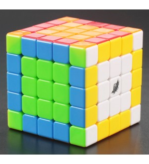 Cyclone-Boy 5x5x5(G5) Magic Cube Stickerless