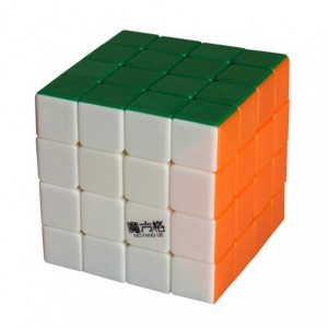 Qiyi MoFangGe (MFG) 4X4X4 Speed Cube Puzzle, Standard Stickerless