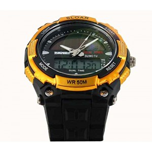 Generic Fashion Electronic Double Display Waterproof Outdoor Sports Watch