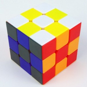 Shengshou Rainbow 3x3x3 57mm Magic Cube Stickerless