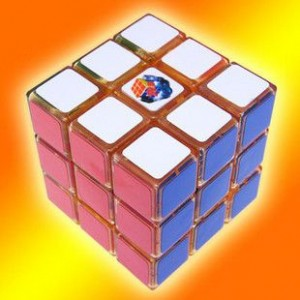 GhostHand (GS) Ice-dancing 3X3 Speed Cube Orange
