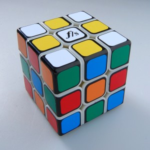 Fangshi (Funs) Shuang Ren 3x3x3 54.6mm Speed Cube Puzzle, Primary