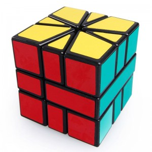 Cube Twist Square-1 Magic Puzzle Speed Cube Black